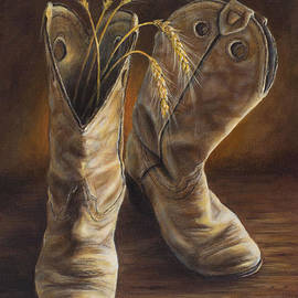 Kim Lockman - Boots and Wheat