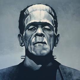 Paul Meijering - Boris Karloff as Frankenstein