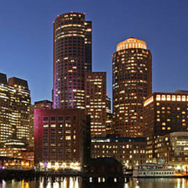 Juergen Roth - Boston Financial District Panoramic Photography