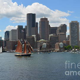 DejaVu Designs - Boston Massachusetts Skyline