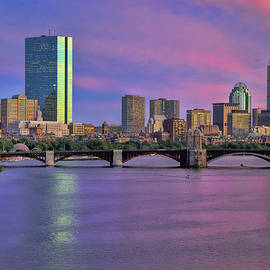 Joann Vitali - Boston Pastel Sunset