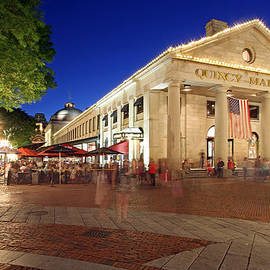 Juergen Roth - Boston Quincy Market near Faneuil Hall