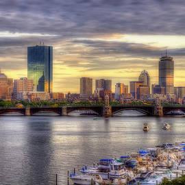Joann Vitali - Boston Skyline Sunset - 5