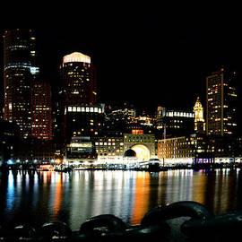 Tricia Marchlik - Boston Waterfront After Dark