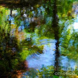 Nancy Mueller - Botanic Garden Pond Reflections