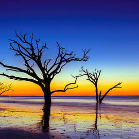 Serge Skiba - Botany Bay Sunrise on Edisto Island South Carolina