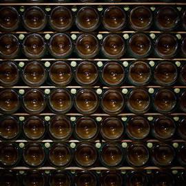 Jouko Lehto - Bottles. Ca del Bosco winery. Franciacorta DOCG