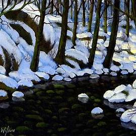 Frank Wilson - Boulder Brook In Winter