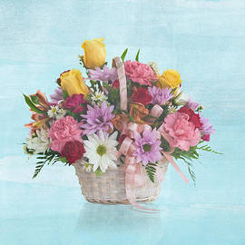 Delores Knowles - Bouquet in a Basket