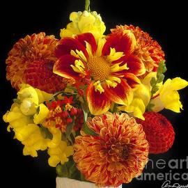 Ann Jacobson - Bouquet of Flowers From My Garden