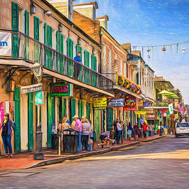 Steve Harrington - Bourbon Street Afternoon - Paint