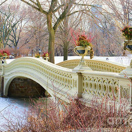 Paul Ward - Bow Bridge in Central Park NY