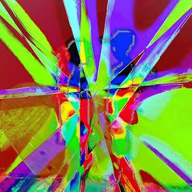 Catherine Lott - Boy Girl Rainbow Splattered