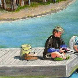Janet Guss - Boys Fishing