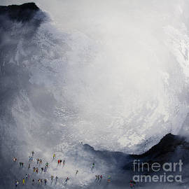 Break in the Weather original painting by Neil McBride