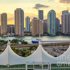 Rene Triay Photography - Brickell Key Skyscrapers Miami Florida