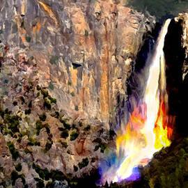 Bob and Nadine Johnston - Bridalvail Falls Yosemite National Park