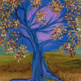 First Star Art  - Bridesmaid Tree blue