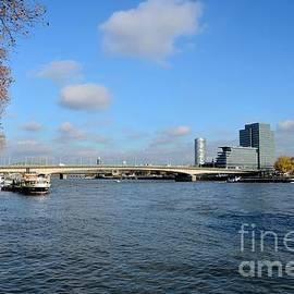 Imran Ahmed - Bridge across Rhine River Cologne Germany