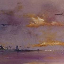 Christopher Delni-Offord - Bridge at dusk