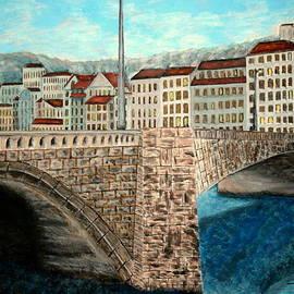 Irving Starr - Bridge in Lyon