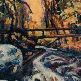 Kendall Kessler - Bridge In Woods Small