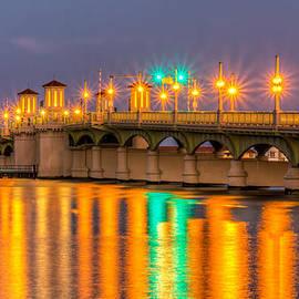 Rob Sellers - Bridge of Lions at Dusk