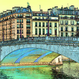 Allen Beatty - Bridge Over the Seine 3