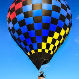 Robert Bales - Bright Checkered Hot Air Balloon