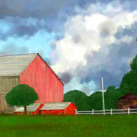 Bruce Nutting - Bright Day on the Farm