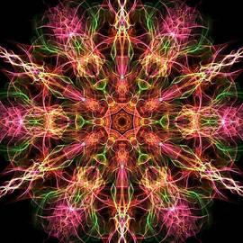 Lilia D - Bright Metallic Kaleidoscope Ornament