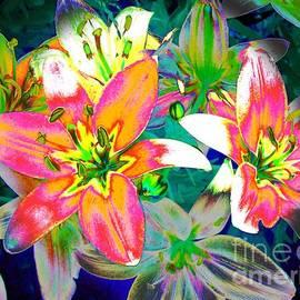 Annie Zeno - Bright Tiger Lilies