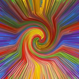 Navin Joshi - Brilliant Scientific Balanced Manadala Style Twril Mandala Graphic spectrum reiki healing graphic co
