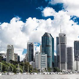 Parker Cunningham - Brisbane From The River
