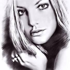 Scott Wallace - Britney Spears Sketch