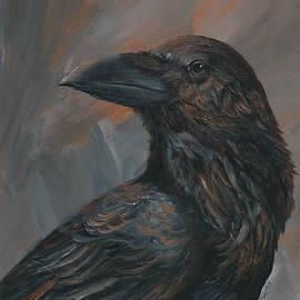 Christine StPierre - Bronze Raven