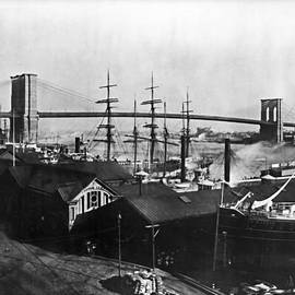 Digital Reproductions - Brooklyn Bridge 1840