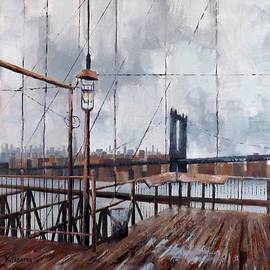 Jeff Klisares - Brooklyn Bridge Stroll