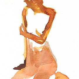 Shunichi Takahashi - Brown Figure Drawing In Japan