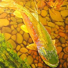 Terry Gill - Brown Fish
