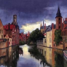 Janet King - Bruges Belgium canal