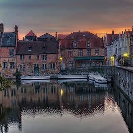 Joan Carroll - Bruges Canal Dawn