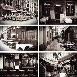 Carol Groenen - Brussels Cafes Collage