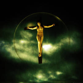Ramon Martinez - Bubble crucifix