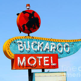 Catherine Sherman - Buckaroo Motel Sign