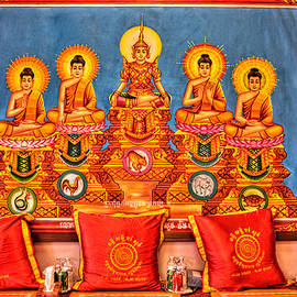 Amanda Stadther - Buddist Prayer Mats