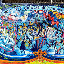 Venetia Featherstone-Witty - Buenos Aires Mural with Graffiti