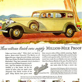 The Advertising Archives - Buick Division Of General Motors 1930s