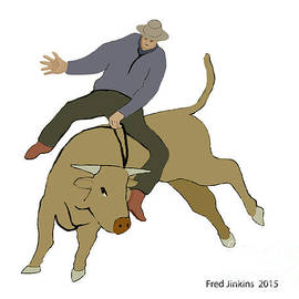 Fred Jinkins - Bull Riding