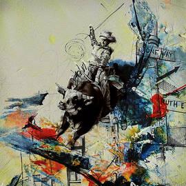 Corporate Art Task Force - Bull Rodeo 02